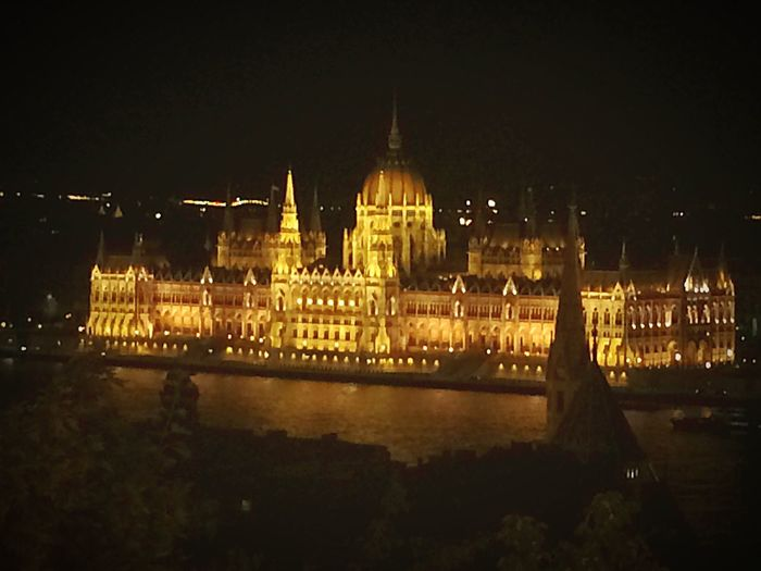 The iconic Parliament Building of Hungary in Budapest. Iconic Building