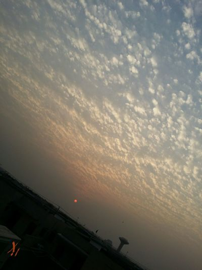 And the setting sun taught me humility. Nofilter Evening Sky Lahore Pakistan