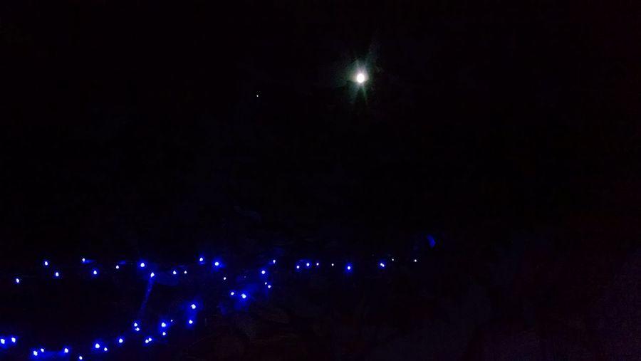 Night star moon