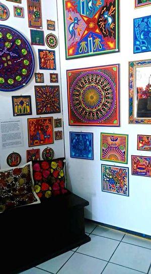 Mexico Perfect Art Huichol Love Colors Artesania Spring Your Design Story The Portraitist - 2016 EyeEm Awards
