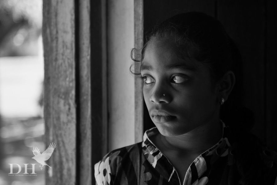 Girl in a village near Nagpur Portrait Monochrome EyeEm Best Shots The Human Condition