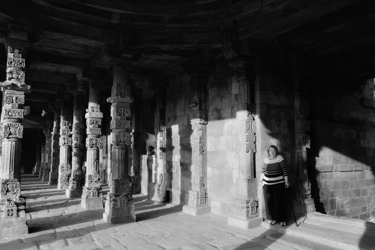 Spirit from the Past, Qutb Minar Black And White Friday An Eye For Travel