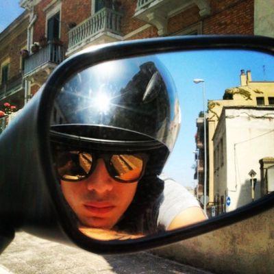 Ordinary day Instaride Instaevening Instamoment Picoftheday f4f love l4l sunglasses goingtostudy tagsforlike ride city Matera sun hot easyboy style gofast borntoride tmax street