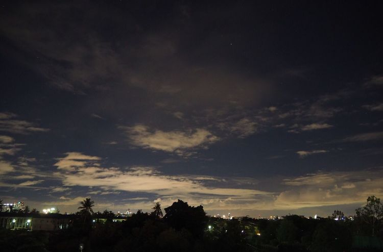 Sky Sky And Clouds Stars Midnight Thailand (no fiter)
