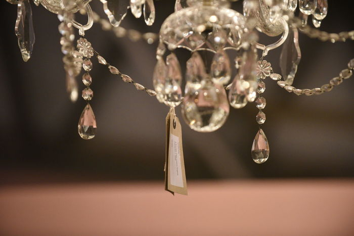 Beauty In Nature Bubble Chandelier Close-up Crystal Crystals Day Decor Decoration Detail Focus On Foreground Fragility Nature No People Purity Selective Focus Shiny Twig