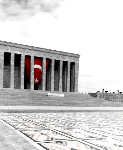 History Architectural Column Architecture Ancient Red Cloud - Sky Built Structure No People Day Sky Outdoors Ancient Civilization King - Royal Person Politics And Government Anitkabir Museum Anitkabir Ankara Anıtkabir Architecture EyeEm Best Shots Cityscape Turkish Flag