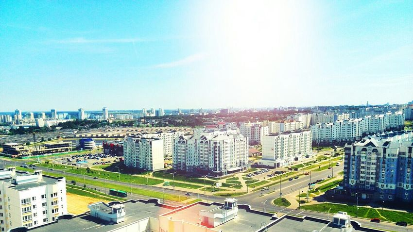 Minsk Relaxing High Hello World Enjoying Life Afternoon Spring Houses Beautiful City