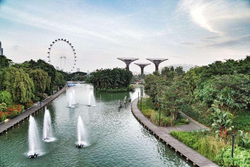 Scenic view of bridge against sky