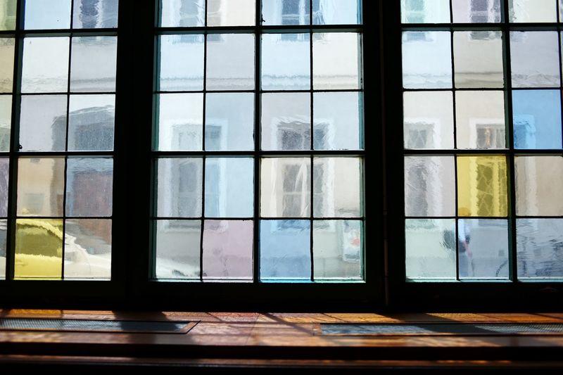 Glass Window Of Building