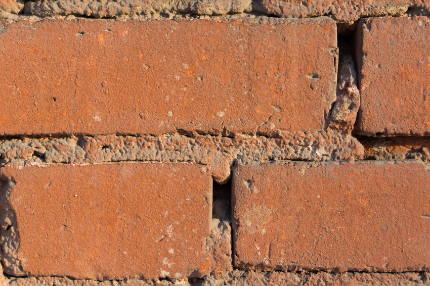 Backgrounds Brick Wall Brown Building Exterior Built Structure Cracked No People Rusty Textured