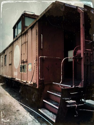 IPhone Iphoneonly IPhoneography GalvestonTexas Train Museum Trains_worldwide Trainphotography Train Caboose Cabooses