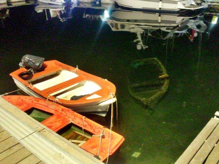 Memorie del mare Sea Boat Relict Palermo By Night
