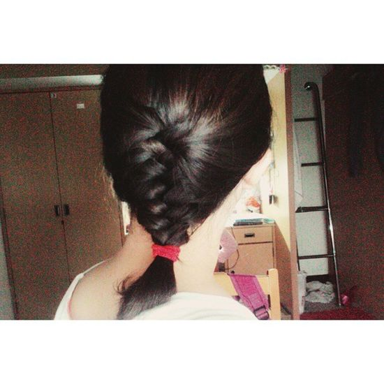 Midnight Braido. Fishtailbraid Doitmyself Ilovebraidos Midnight Hairbraid Hairdo