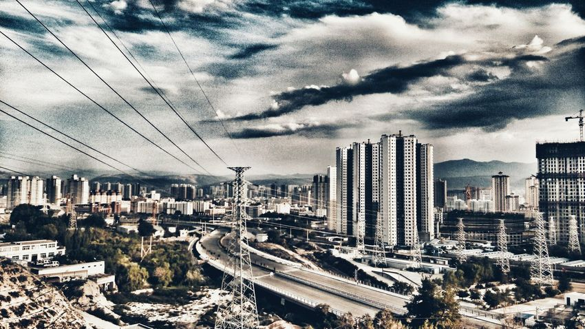 Blue Sky Summer Vacation Cloud And Sky Look At This Focus On Finding Beauty Smartphone Photos Hahahaha 😂😂😂😂😂 2016 EyeEm Awards Original Experiences Waching Walking Around Ready To Go Lanzhou City View City Development Home Is Where The Art Is