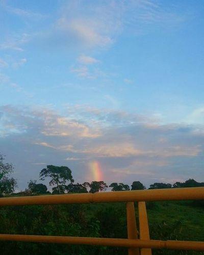Draw in the sky! VSCO Vscogrid Arcoiris Thebest Puebloviejo Tampico Igerstampico Sky Blue