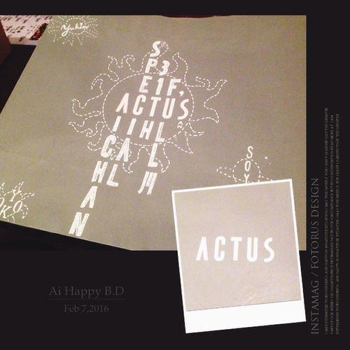 ACTUS Art ArtWork Drawing Arrangement Bag Shop Bag Free Hand