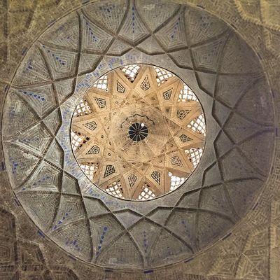 بخشی از سقف بازار سنتی یزد. تابستان ۹۳ یزد بازار سنتی Yazd Tourism Photo Photooftheday