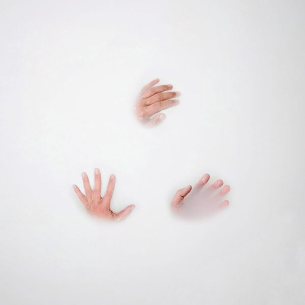 EyeEm Selects Milk Bath Hands Human Body Part White Background Pastel Colored