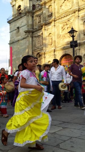 Child Street Traditional Clothing Real People Cultures Travel Destinations Girls Outdoors Traditional Festival Women Religion Full Length People Adult Place Of Worship Vacations Day Fresh On Eyeem  Timeless Mexico OaxacaTravel