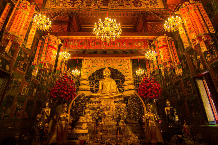 Templephotography Gold Lord Buddha