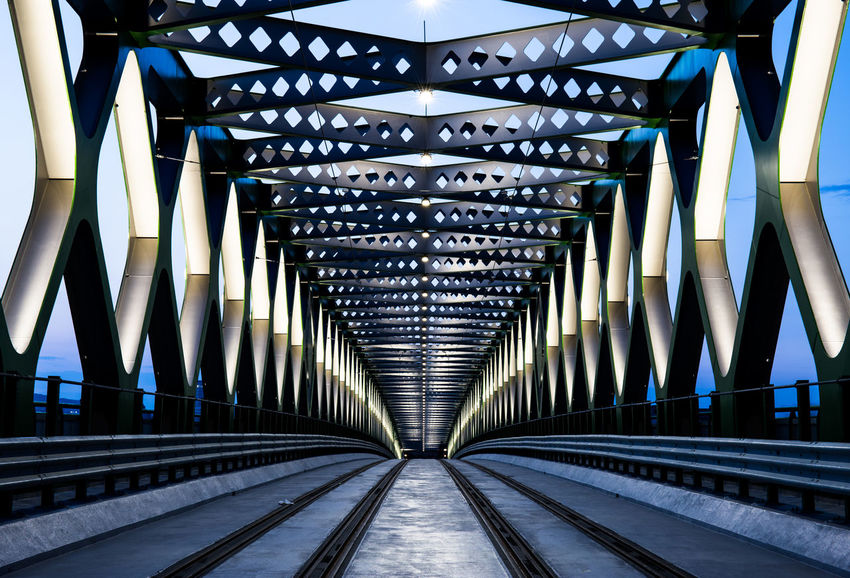 New Old Bridge after reconstruction in Bratislava (Capital of Slovakia) https://www.facebook.com/LadislavSPhotography/ Architecture Bridge Bridge - Man Made Structure Built Structure Engineering Footbridge Outdoors The Architect - 20I6 EyeEm Awards