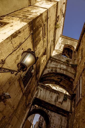 Architecture Built Structure Low Angle View Building Lighting Equipment Building Exterior No People History Old The Past Wall - Building Feature Day Wall Outdoors Electric Lamp Arch Nature Religion Abandoned Ceiling