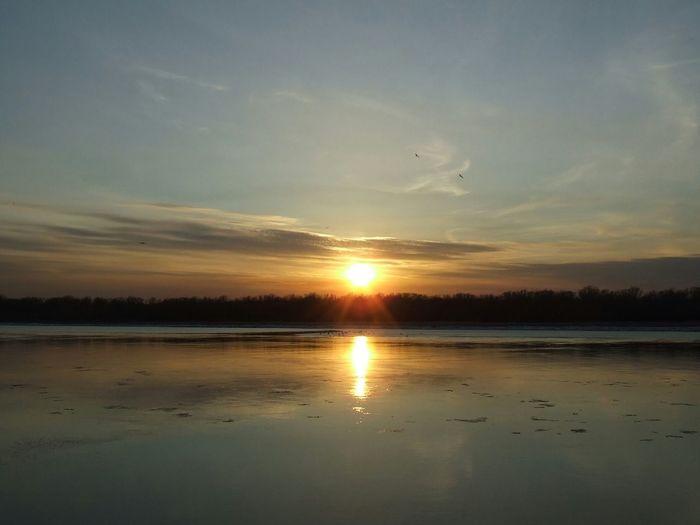 Nature, the Volga river