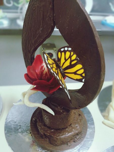 Chocolate showpiece Melbourne Foodies Food Edibles