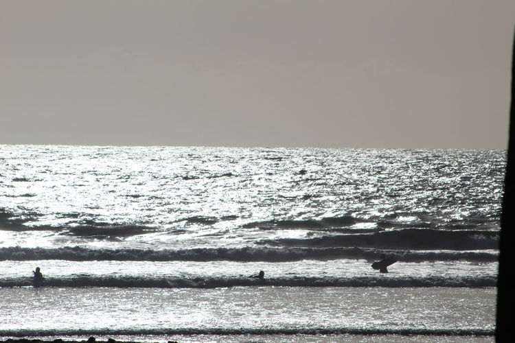 Sea Beach Scenics Horizon Over Water Beauty In Nature Nature Outdoors Tranquility Sky Silhouette Vacations Water Day Clear Sky Oceanside, Ca
