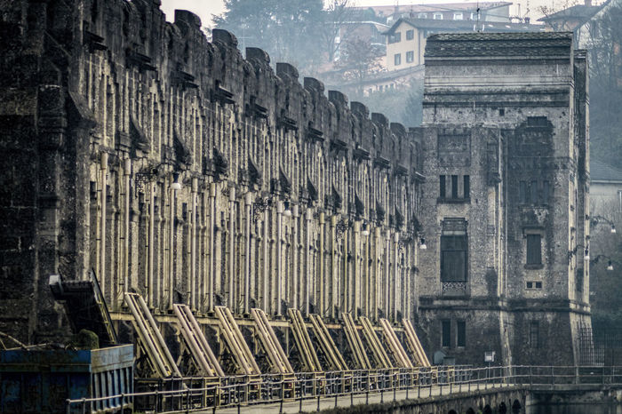 Architecture Building Exterior Centrale Idroelettrica Taccani Enel Facade Building Historical Building Hydroelectric Power Plant Impressive Struttura Imponente The Architect - 2017 EyeEm Awards