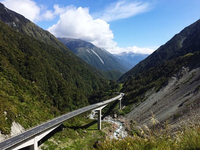 Trip from Christchurch to Greymouth via Arthur's Pass The KIOMI Collection Arthur's Pass Pass Bridge Bridges Summer Mountains Forest Street Neuseeland View From Above View South Island South Island New Zealand New Zealand Scenery New Zealand Impressions New Zealand Beauty New Zealand Landscape
