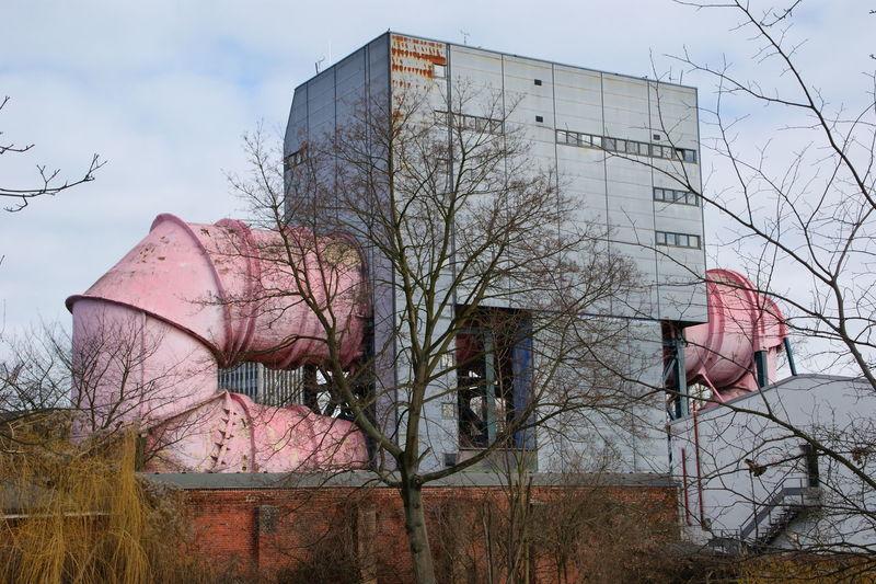Versuchsanstalt für Wasserbau und Schiffbau Architecture Architektur Berlin Building Deutschland Germany Industry Schiffbau Wasserbau