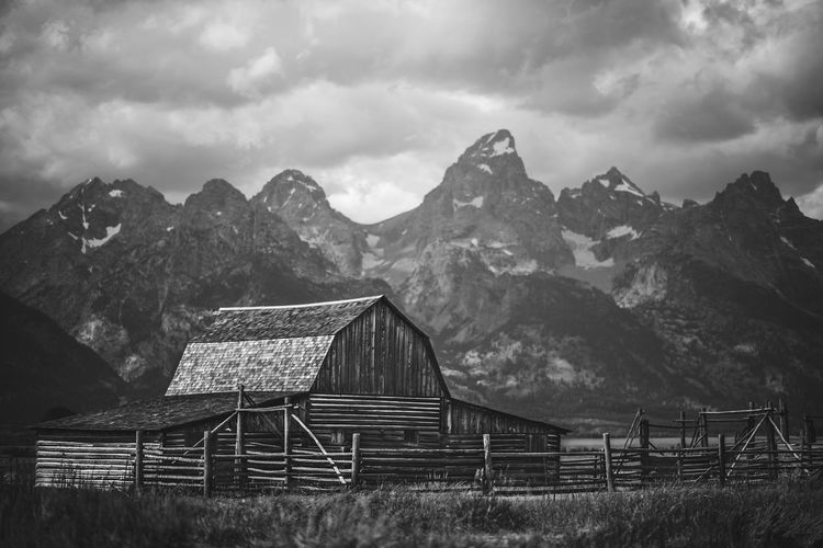 Tetons Beauty In Nature Landscape Mountain Mountain Range Nature Outdoors Sky West First Eyeem Photo