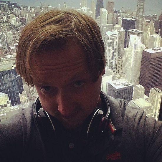 Willistower top of Chicago Selfie