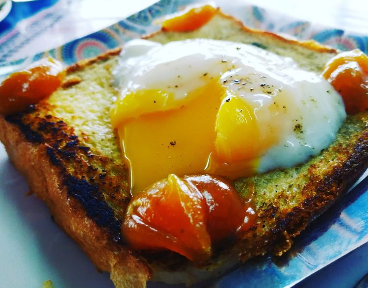 Food And Drink Food Freshness Indoors  No People Close-up Breakfast Healthy Eating Ready-to-eat Day Egg Egg Yolk Eggporn Eggwhites Bread Breadtalk Bread, Breakfast, Cake, Close Up, Decoration, Eat, Eating, Family Cake, Food, Home, Home Made, Orange, Pick, Red Dish, Spoon Cake, Steal, Sweet, Sweets, Temptation, Torta Paesana, Window Esposition, Window Ligth