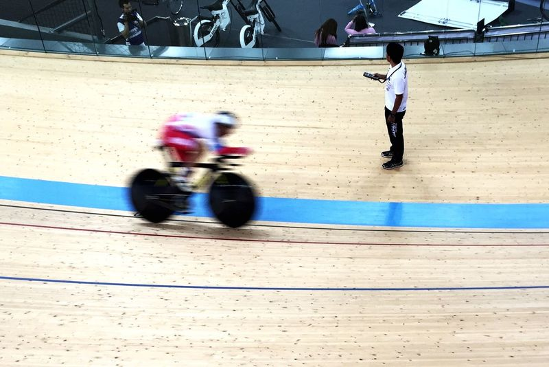 At The Races Hong Kong Velodrome Speed Racing Atmosphere Minimal Editing
