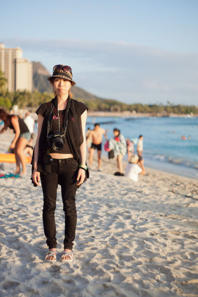 📷 Cool Photo Explorer in Waikiki Beach 🌴 Japanese Girl Explorer City City Life Fashion Honolulu, Hawaii Individuality Portraits Sidewalk Sunny Accessories Alohastate Apparel Beachwear Clothing Ethnic Honolulu  Islandstyle Multi Cultural Portrait Shoes Street Fashion Streetphotography Style Urban Young Adult EyeEmNewHere Stories From The City