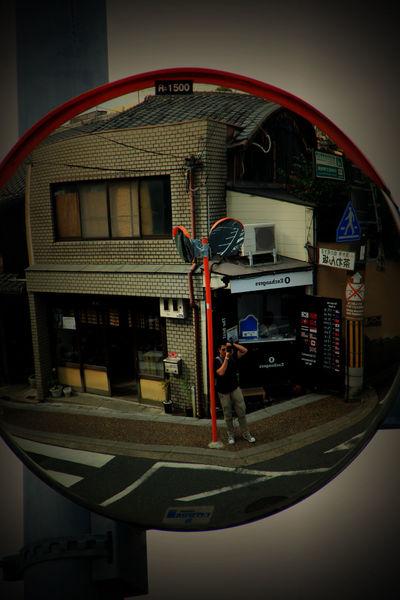 Mirror Myself Selfie ✌ Convex Mirror Koyto Japan EyeEm Ready   Summer Road Tripping