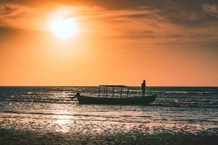 One of my favorite pictures of Brazil. The silhouette of a fisherman next to a dune in Jericoacoara. Beauty In Nature Dawn Horizon Over Water Nature Nautical Vessel Ocean One Man Only One Person Orange Color People Reflection Scenics Sea Sea And Sky Seascape Silhouette Sky Sky And Clouds Sun Sunrise Sunset Sunshine Tranquility Transportation Water The Street Photographer - 2017 EyeEm Awards The Great Outdoors - 2017 EyeEm Awards The Photojournalist - 2017 EyeEm Awards The Portraitist - 2017 EyeEm Awards EyeEmNewHere Let's Go. Together. Sommergefühle EyeEm Selects Lost In The Landscape Connected By Travel An Eye For Travel This Is Masculinity Adventures In The City Adventures In The City Visual Creativity Focus On The Story Going Remote This Is Latin America The Great Outdoors - 2018 EyeEm Awards The Traveler - 2018 EyeEm Awards A New Beginning Capture Tomorrow A New Perspective On Life 2018 In One Photograph
