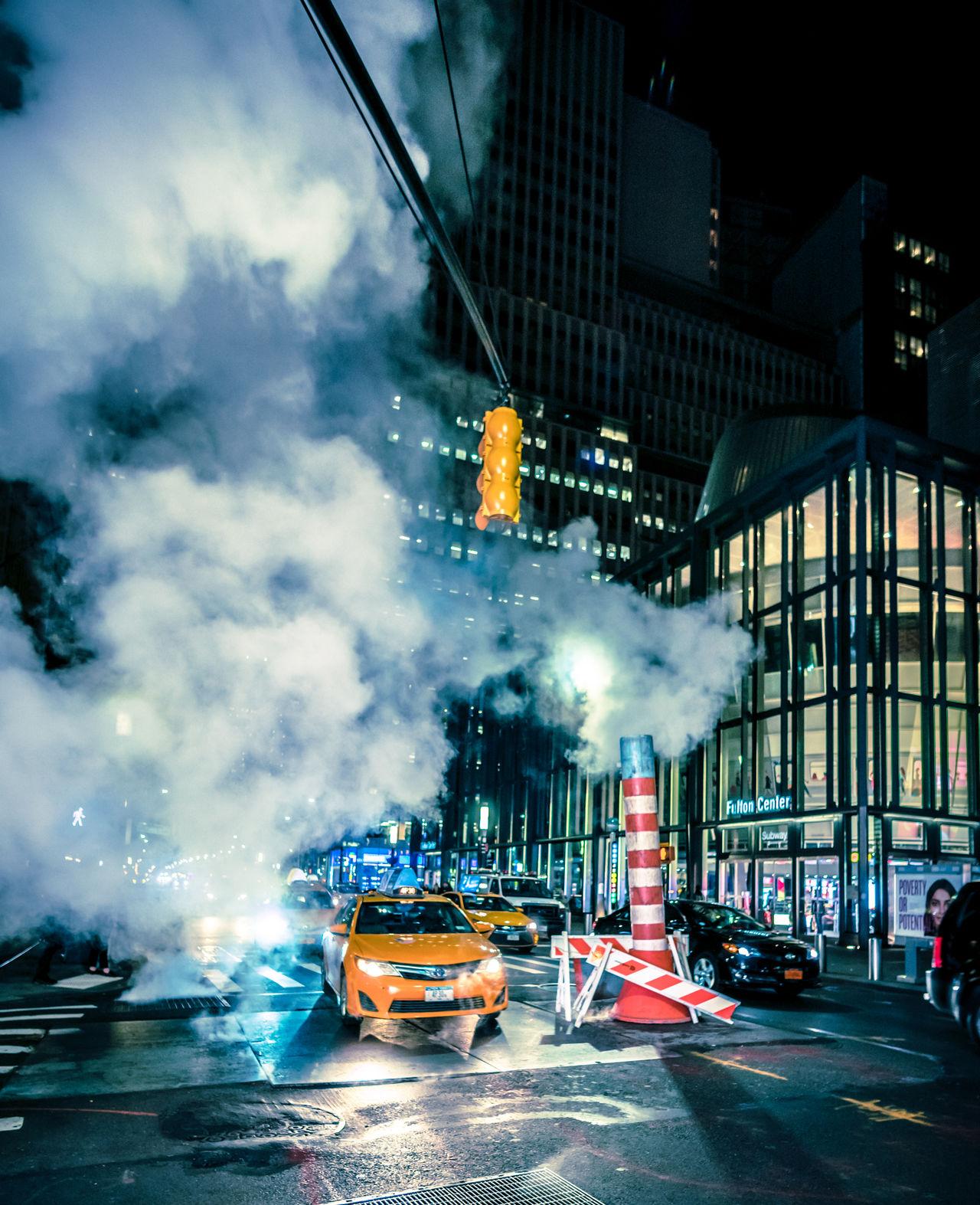 transportation, illuminated, mode of transportation, car, architecture