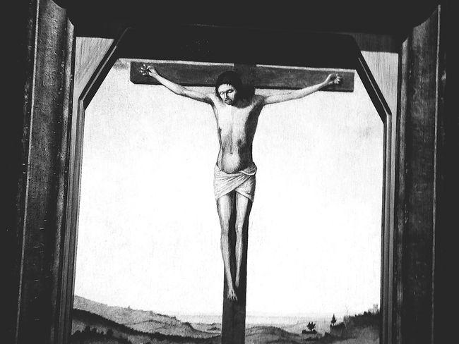 Artistic Pray Praying Prayer Jusus Krist Cross Painting Paint Art Design