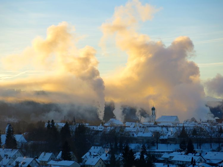 Getting Inspired Snow ❄ Wintertime Onmywaytowork Sunrise_Collection Sunrise... My Hometown