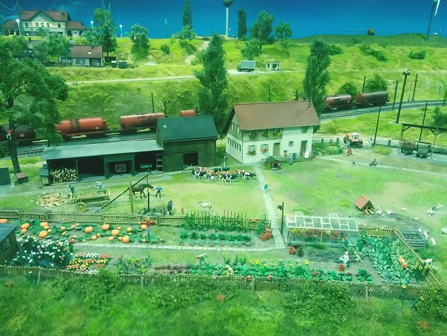 Modeling Miniversum Modelling Model Table Agriculture Landscape