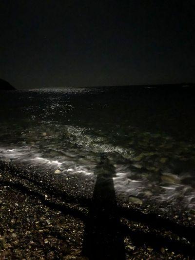 Sea Water Night