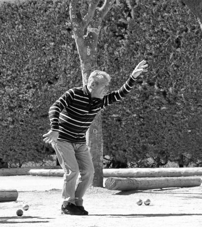 Blackandwhite Boules Carefree Full Length Game Leisure Activity Lifestyles Park Petanque Provence Real People South Of France Sport Standing