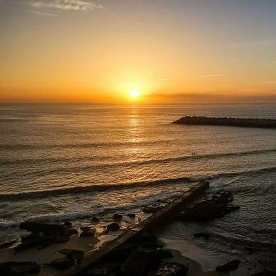 Ericeira Portogallo Portugal Sunsets sun sole tramonti tramonto sea mare sera evening scogli