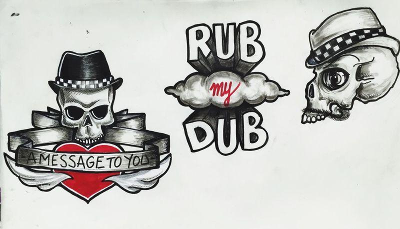 Black And White My Art Inked Tattoo ❤ Tattooflash Dessin Drawing Ska Oldschool Fresh
