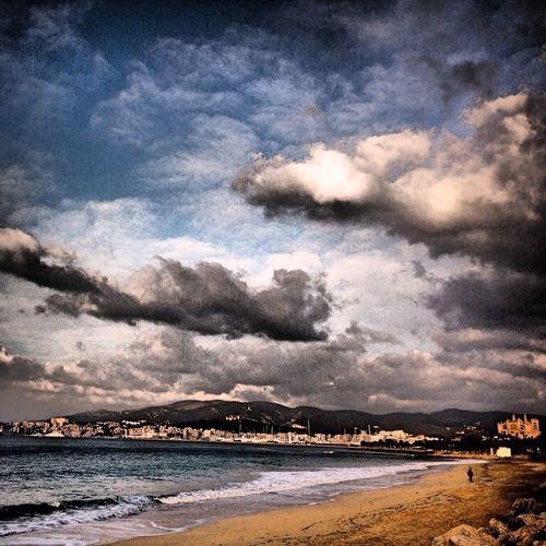 Nubes Mallorca Ciudad Palma De Mallorca