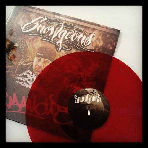 Snowgoons in Red Vinyl @snowgoons @realsnowgoons Germancuts