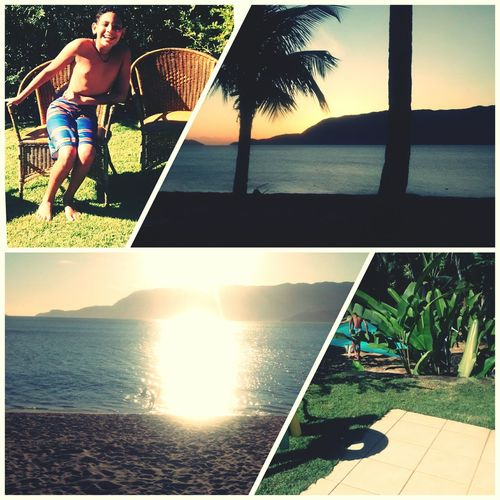 Boa tarde ....amooo ✌ Ilhabela AmoDemais♡ Ferias2015